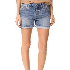 ✨LAST One sz25 ! NWT Levi's 501ct selvedge Shorts